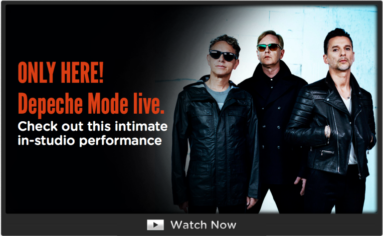 Depeche Mode Live - in-studio performance