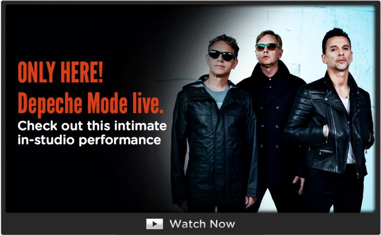 Depeche Mode Live - in-studio performance